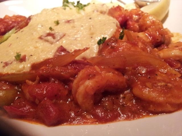 Pappadeaux Shrimp Creole & Grits