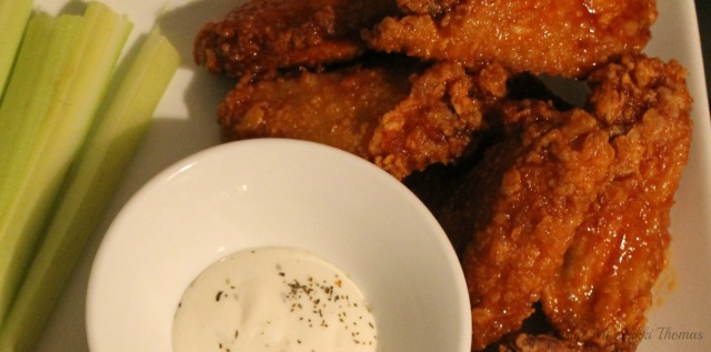 Buffalo Wings wRanch Dressing
