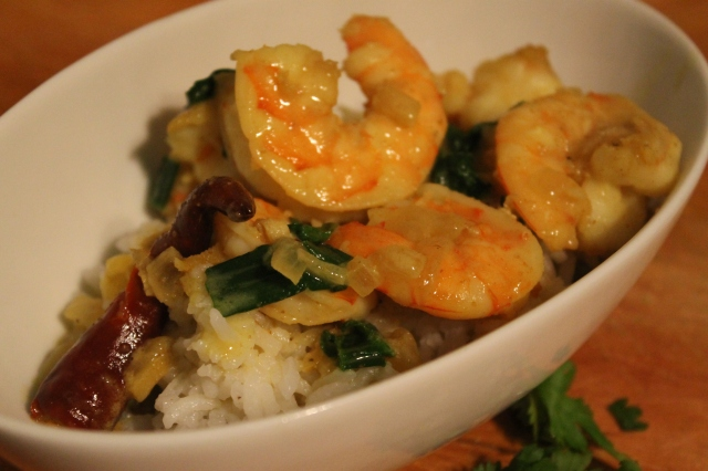 Shrimp and Coconut Curry